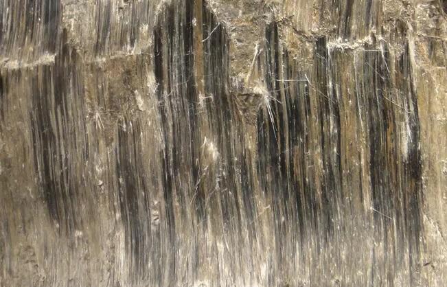 L'asmosite ou amiante brun Diagnostic de l'amiante