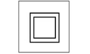 Matériel possédant une double isolation des parties actives (isolation fonctionnelle et matérielle). Pas de liaison à la terre des parties métalliques