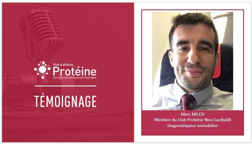 Intégration de NiceDiagnostic au club d'affaires Protéine